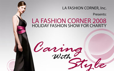 Holiday Fashion Show Fundraiser Flash Promo