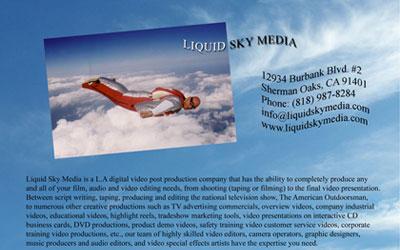 Liquid Sky Media Ad
