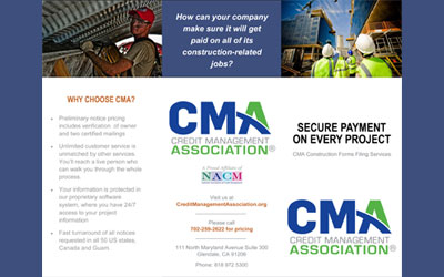 CMA Brochure