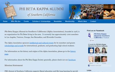 Phi Beta Kappa Alumni