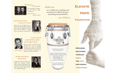 Elevate Hope Foundation Brochure