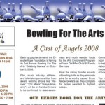 Bowling For The Arts Newsletter Thumbnail