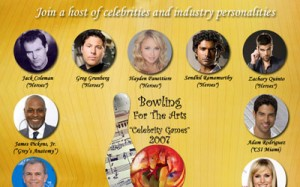 Bowling For The Arts Poster Thumbnail