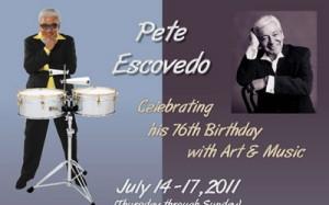 Pete Escovedo 76th Birthday Celebration Poster Thumbnail
