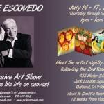 Pete Escovedo Postcard Flyer