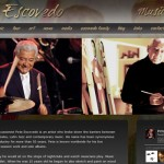 Pete Escovedo Website