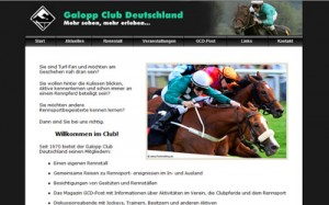 Galopp Club Deutschland Website Thumbnail