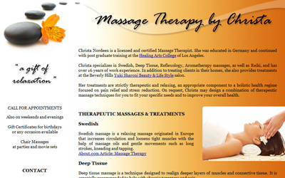Massage Therapy by Christa